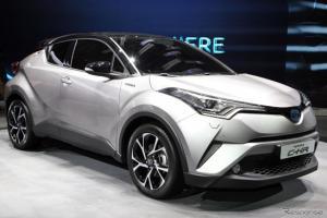 เผยสเป็ค Toyota C-HR มาพร้อมเครื่องยนต์ 1.2 ลิตรเทอร์โบ