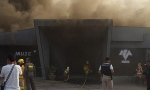 ไฟไหม้มูเซ่ผับ พัทยา ยังควบคุมเพลิงไม่ได้