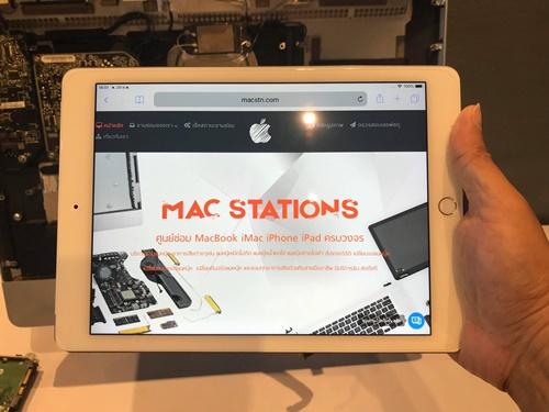 ศูนย์ซ่อมแมคบุ๊คแมคสเตชั่น เลียบทางด่วนเอกมัย-รามอินทรา เป็นศูนย์ซ่อม MacBook iMac iPad iPhone