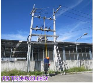 รับเดินระบบไฟฟ้าเครื่องจักร รับติดตั้งระบบป้องกันฟ้าผ่า ประกอบและติดตั้งตู้สวิทซ์บอร์ด 083-9915879