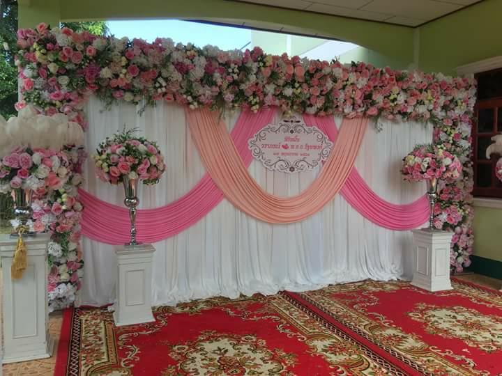 รับจัดดอกไม้งานแต่ง จัดขันหมากเอกโท รับจัดซุ้มดอกไม้ จัดฉากงานแต่ง