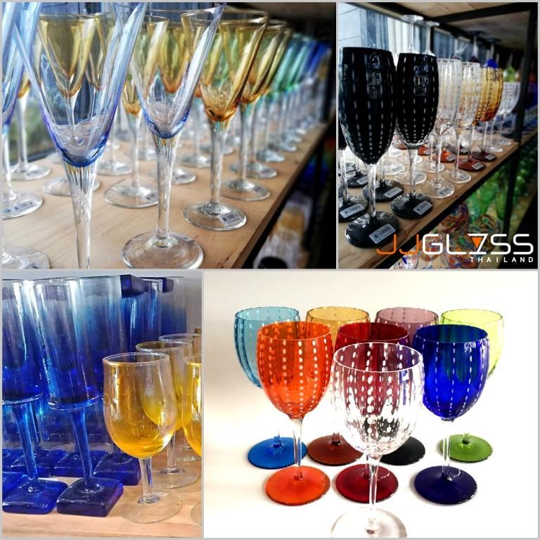 JJGLASS รับผลิตและจำหน่ายสินค้าเครื่องแก้วทุกชนิด ทั้งในราคาปลีกและส่ง