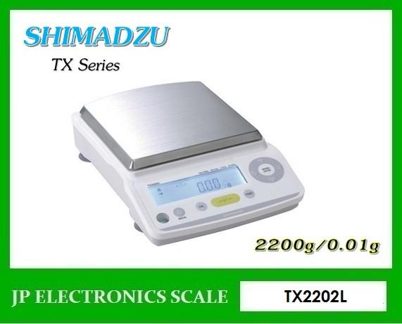เครื่องชั่งละเอียดสูง2200g เครื่องชั่ง ละเอียด2200g ยี่ห้อ SHIMADZU รุ่น TX2202L