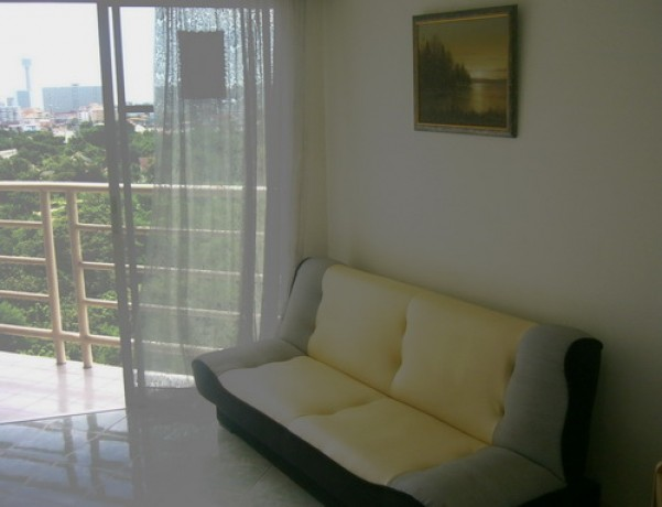 To sell a beautiful room of Jomtien Beach Condominium at 980,000 baht only 1f
