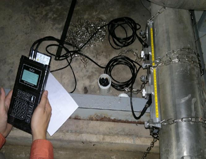 บริการรับวัด flow (บริการรับวัดอัตราการไหล) ของของเหลวในท่อ