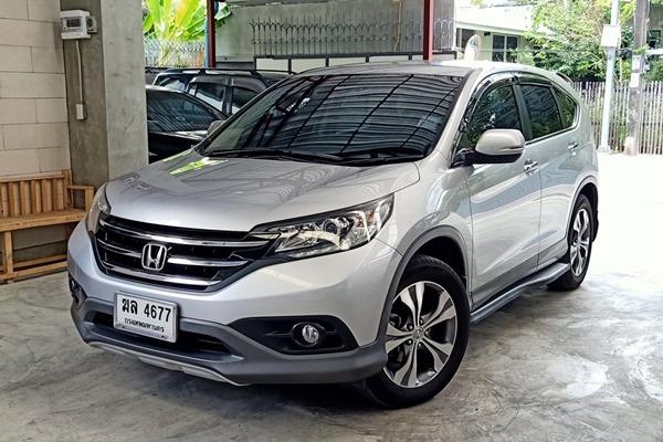 ขายรถ Honda CRV 2.4EL รุ่นท๊อป Full option รถมือเดียว วิ่งน้อย 9X,XXX กิโล