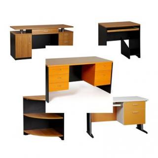 จำหน่าย โต๊ะทำงาน โต๊ะคอมพิวเตอร์ โต๊ะขาเหล็ก www.silvafurniture.net