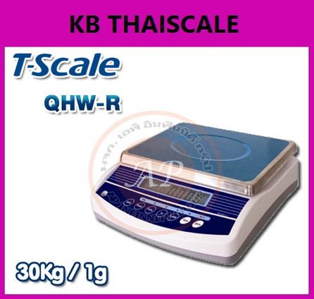 เครื่องชั่งดิจิตอลตั้งโต๊ะ 3-30kg ยี่ห้อ TSCALE รุ่น QHW