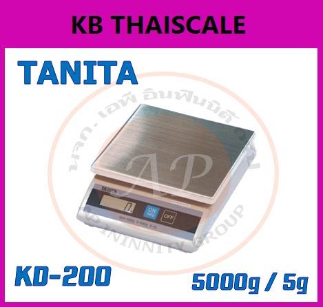 เครื่องชั่งดิจิตอลตั้งโต๊ะ 1-5kg ยี่ห้อ TANITA รุ่น KD-200