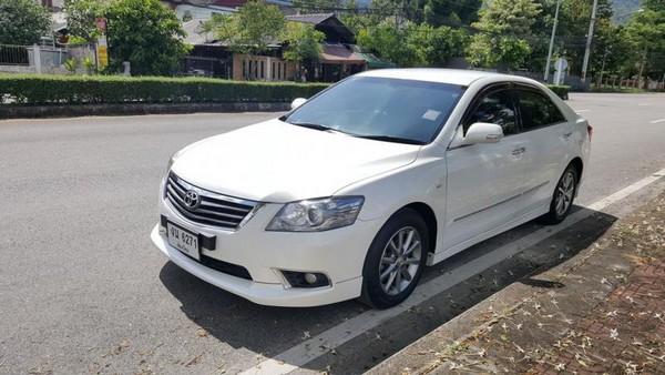 ขายรถบ้านแท้ๆ Toyota Camry 2011 Extremo 2.0G สีขาวมุก  รถไม่เคยติดแก๊ส