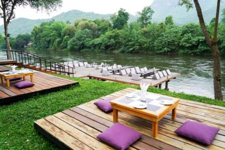 ไมด้า รีสอร์ท กาญจนบุรี ล่องแพกลางแม่น้ำแควใหญ่ มื้อเย็นโรแมนติคริมแม่น้ำ นอนฟังเสียงธรรมชาติกลางป่า